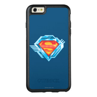 Superman S-Shield | Red and Blue Metal Logo OtterBox iPhone 6/6s Plus Case