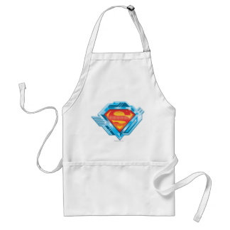Superman S-Shield | Red and Blue Metal Logo Standard Apron