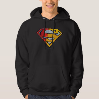 Superman S-Shield | Red and Orange Logo Hoodie