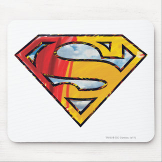 Superman S-Shield | Red and Orange Logo Mouse Mat