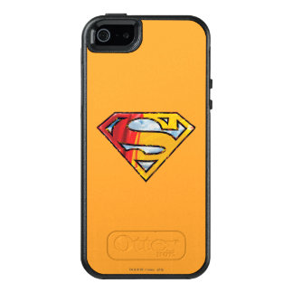 Superman S-Shield | Red and Orange Logo OtterBox iPhone 5/5s/SE Case