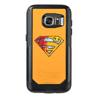 Superman S-Shield | Red and Orange Logo OtterBox Samsung Galaxy S7 Case