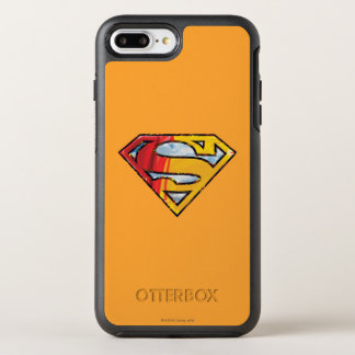 Superman S-Shield | Red and Orange Logo OtterBox Symmetry iPhone 8 Plus/7 Plus Case