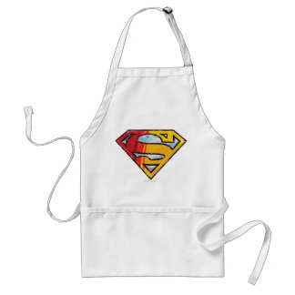 Superman S-Shield   Red and Orange Logo Standard Apron