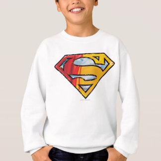Superman S-Shield | Red and Orange Logo Sweatshirt