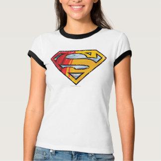 Superman S-Shield | Red and Orange Logo T-Shirt