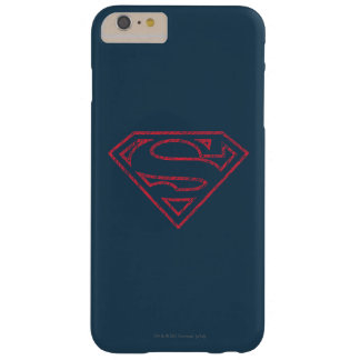 Superman S-Shield | Red Outline Logo Barely There iPhone 6 Plus Case