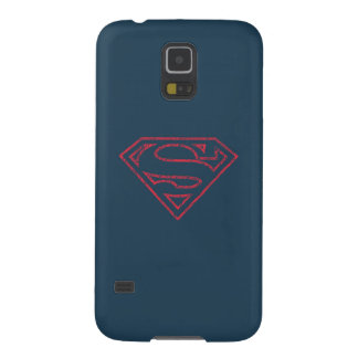 Superman S-Shield | Red Outline Logo Galaxy S5 Case