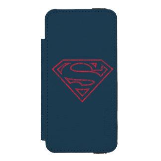 Superman S-Shield | Red Outline Logo Incipio Watson™ iPhone 5 Wallet Case