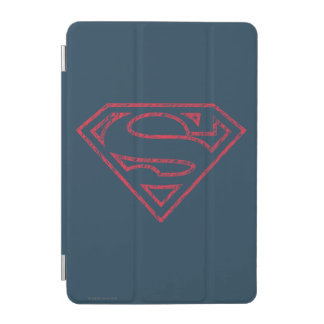 Superman S-Shield | Red Outline Logo iPad Mini Cover
