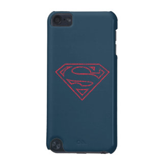 Superman S-Shield | Red Outline Logo iPod Touch 5G Cover