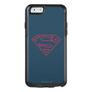 Superman S-Shield | Red Outline Logo OtterBox iPhone 6/6s Case
