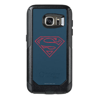 Superman S-Shield | Red Outline Logo OtterBox Samsung Galaxy S7 Case