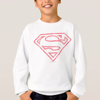 Superman S-Shield | Red Outline Logo Sweatshirt