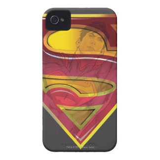 Superman S-Shield | Reflection Logo iPhone 4 Case-Mate Case