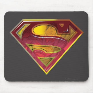 Superman S-Shield | Reflection Logo Mouse Mat