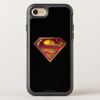 Superman S-Shield | Reflection Logo OtterBox Symmetry iPhone 8/7 Case