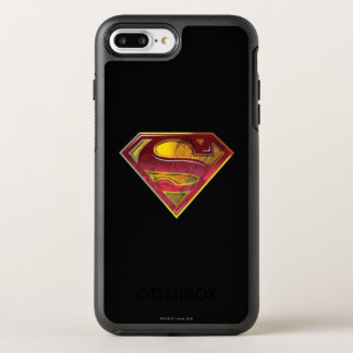 Superman S-Shield | Reflection Logo OtterBox Symmetry iPhone 8 Plus/7 Plus Case