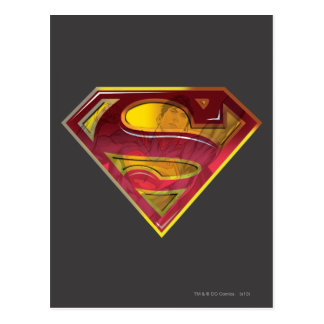 Superman S-Shield | Reflection Logo Postcard