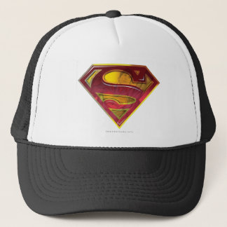 Superman S-Shield | Reflection Logo Trucker Hat