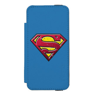 Superman S-Shield | Scratches Logo Incipio Watson™ iPhone 5 Wallet Case