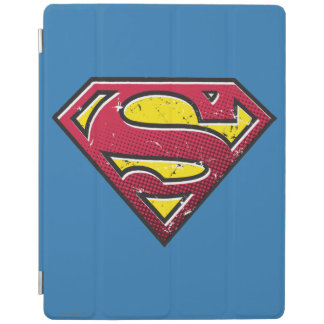Superman S-Shield | Scratches Logo iPad Cover