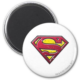 Superman S-Shield | Scratches Logo Magnet