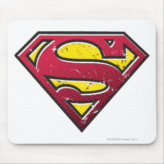 Superman S-Shield | Scratches Logo Mouse Pad