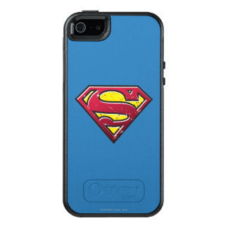 Superman S-Shield | Scratches Logo OtterBox iPhone 5/5s/SE Case