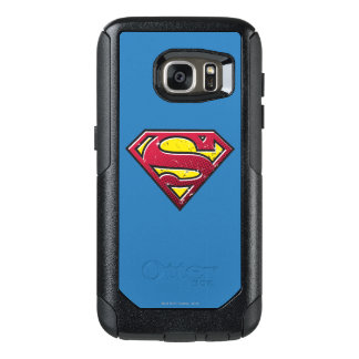 Superman S-Shield | Scratches Logo OtterBox Samsung Galaxy S7 Case