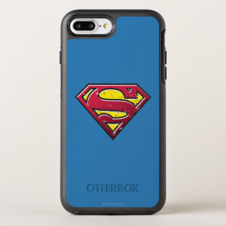 Superman S-Shield | Scratches Logo OtterBox Symmetry iPhone 7 Plus Case