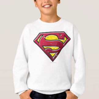 Superman S-Shield | Scratches Logo Sweatshirt