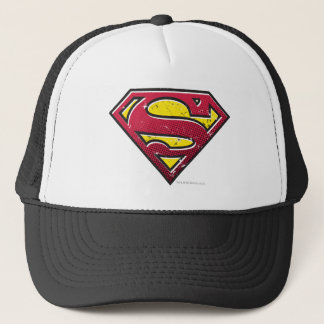 Superman S-Shield | Scratches Logo Trucker Hat