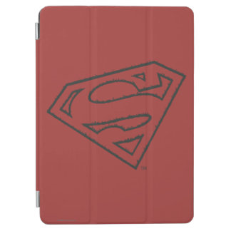 Superman S-Shield | Sideways Grunge Logo iPad Air Cover