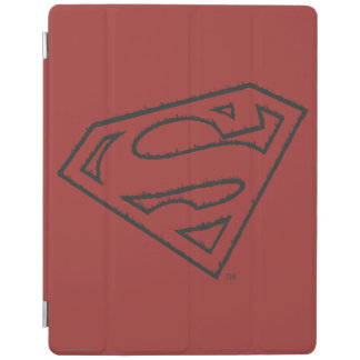 Superman S-Shield | Sideways Grunge Logo iPad Cover