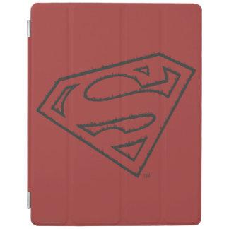 Superman S-Shield | Sideways Grunge Logo iPad Smart Cover