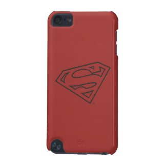 Superman S-Shield | Sideways Grunge Logo iPod Touch (5th Generation) Cover