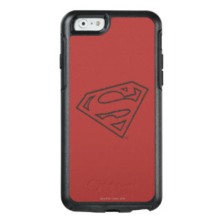 Superman S-Shield | Sideways Grunge Logo OtterBox iPhone 6/6s Case