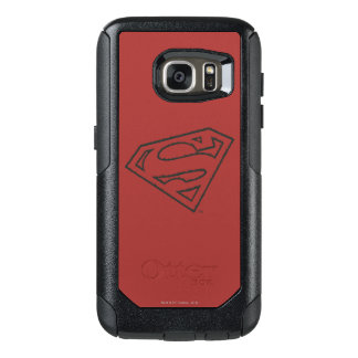 Superman S-Shield | Sideways Grunge Logo OtterBox Samsung Galaxy S7 Case