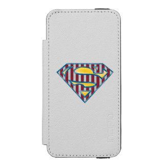 Superman S-Shield | Striped Logo Incipio Watson™ iPhone 5 Wallet Case