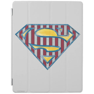 Superman S-Shield | Striped Logo iPad Cover
