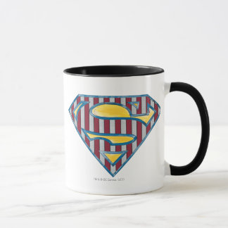 Superman S-Shield | Striped Logo Mug