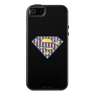 Superman S-Shield | Striped Logo OtterBox iPhone 5/5s/SE Case