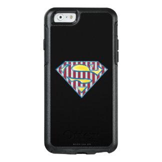Superman S-Shield | Striped Logo OtterBox iPhone 6/6s Case