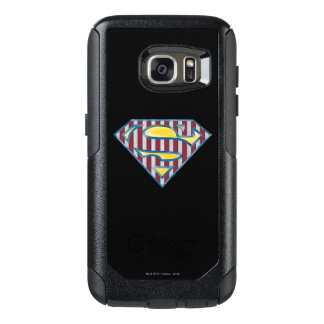 Superman S-Shield | Striped Logo OtterBox Samsung Galaxy S7 Case