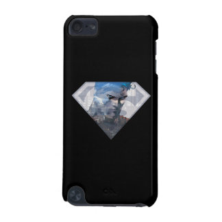 Superman S-Shield   Superman in S-Shield Logo iPod Touch (5th Generation) Case