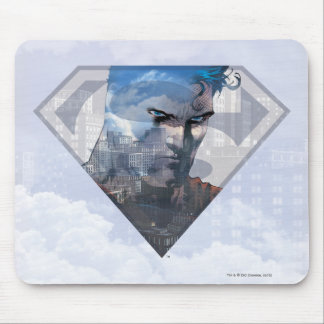 Superman S-Shield   Superman in S-Shield Logo Mouse Mat