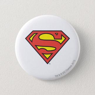 Superman S-Shield | Superman Logo 6 Cm Round Badge