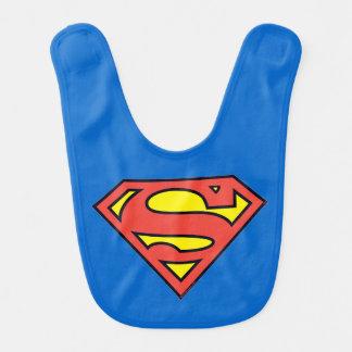 Superman S-Shield | Superman Logo Baby Bib