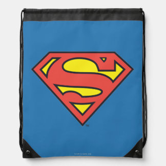 Superman S-Shield   Superman Logo Drawstring Bag